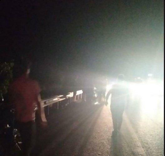 Manisa'nın Turgutlu ilçesi Derbent mahallesinde meydana gelen trafik kazasında 4 kişi yaralandı.