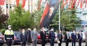 Demirci ilçesinde Muhtarlar Günü dolayısıyla tören düzenlendi