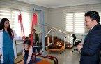 Demirci Kaymakamı Mutlu  Akyol'dan Özel Rehabilitasyon Merkezlerine Ziyaret
