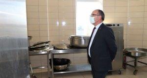 Başkan Çetin Akın'dan Aşevi ve Hayır Merkezine Ziyaret