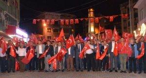 Demirci'de 15 Temmuz Milli Birlik Günü