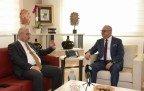 Vali Güvençer Başkan Ergün'ü Ziyaret Etti