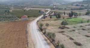 7 buçuk kilometrelik asfalt yol çalışması tamamlandı