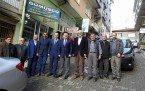 Demirci Kaymakamı Mutlu Akyol Demirci Saadet Partisini  ziyaret etti