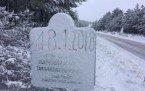 Demirci-Sındırgı yolunda kar temizleme çalışmaları devam ediyor