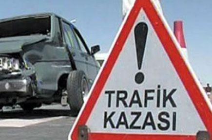 Akhisar'da zincirleme kaza 2 ölü 5 yaralı