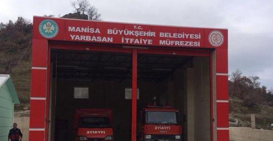 Büyükşehir Yarbasan'a İtfaiye Müfrezesi Açıldı