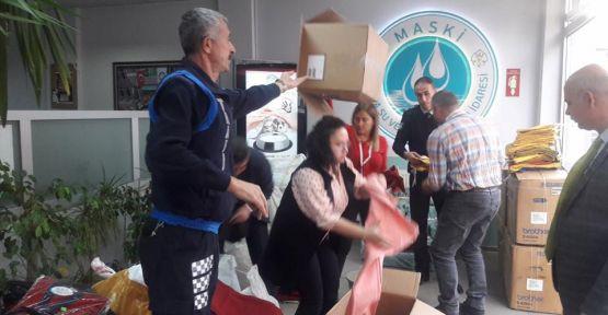 Büyükşehirden Türkmenlere Yardım Eli Uzanıyor
