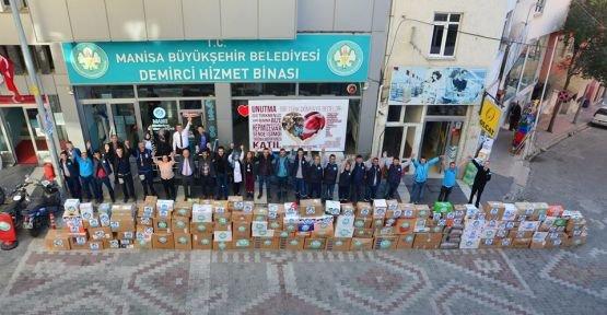Büyükşehirin Türkmenlere Yardım Kampanyası Çığ Gibi Büyüdü