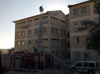 Demirci'de intihar girişimi