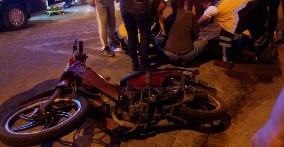 Demirci'de trafik kazası 1 kişi yaralandı