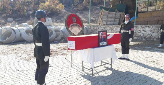 Demircili Kıbrıs gazisi askeri törenle toprağa verildi