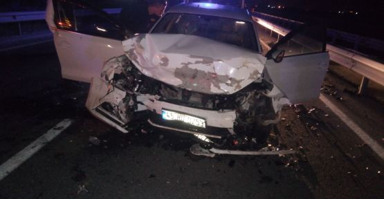Feci kazada 1 kişi öldü 2 kişi ağır yaralı