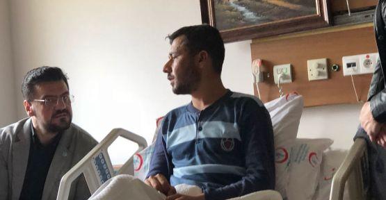 İyi Parti'den Afrin Gazisine Geçmiş Olsun Ziyareti