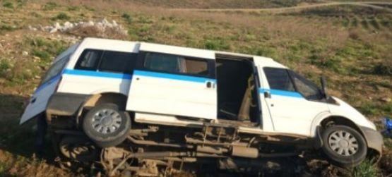 Köprübaşı'nda trafik kazası 6 kişi yaralandı