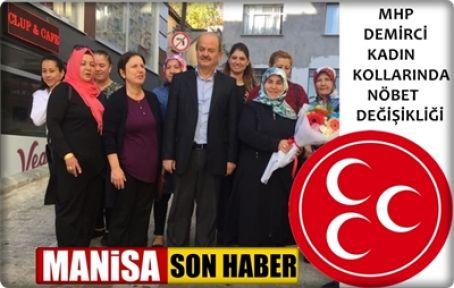 MHP Kadın Kolları Başkanlığına Muradiye Korkmaz getirildi