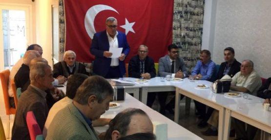 MHP Turgutlu'dan 200'den fazla kişi istifa etti