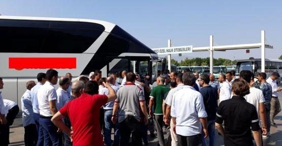 Otobüs Manisa otogarında perona daldı 7 kişi yaralandı