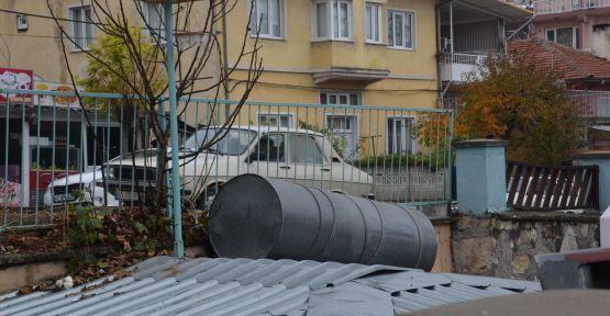 Rezalet! Bu görüntüler köylerde bile kalmadı burası Demirci