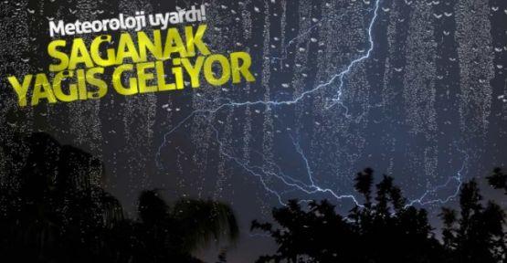 Sağanak yağış Manisa 'da da bekleniyor