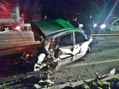 Saruhanlı'da can pazarı 1 ölü 3 yaralı