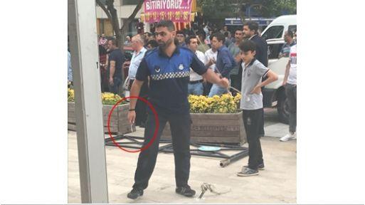 Şehzadeler Belediyesinin Zabıtaları İYİ Partililere bıçakla saldırdı