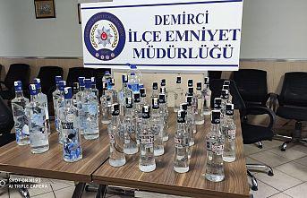 Demirci'de Sahte İçki Operasyonu