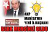 AKP Manisa İl Başkanı Mersinli oldu