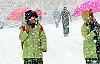Demirci 'de kar tatili 1 gün daha uzadı