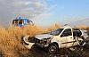 Tarlaya uçan otomobilden 1 ölü 5 yaralı çıktı
