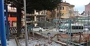 Halıkent Atatürk Parkında tuvalet inşaatı...