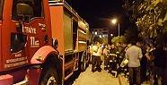 Korkutan yangın 1 kişi yaralandı