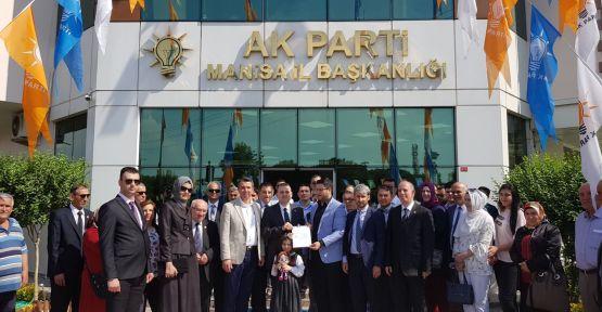 Ümit Taydaş Ak Partiden aday adaylığını açıkladı