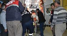 Demirci  Tekeler Mahallesinde Traktör Kazası 1 Ölü 1 ağır yaralı
