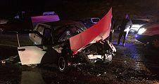Feci kazada 2 ölü 1 ağır yaralı