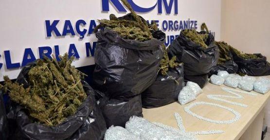 Uyuşturucu şebekesi çökertildi 5 kişi tutuklandı