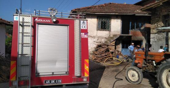 Yangın erken fark edilince felaket önlendi