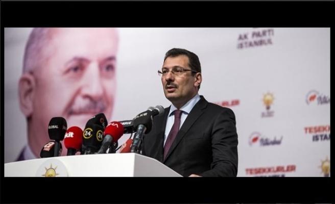 AKP İstanbul'da oylar yeniden sayılsın diyerek YSK'ya gidiyor