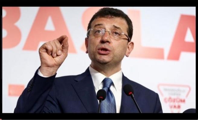 """İmamoğlu Cumhurbaşkanına seslendi """"sürece katkı sunun"""""""