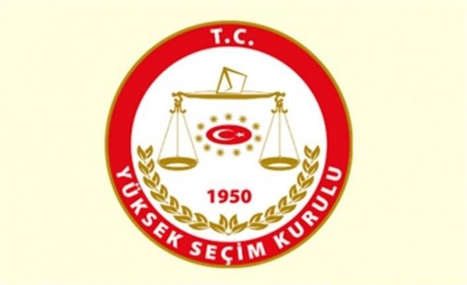 YSK AKP'nin itirazını ret etti