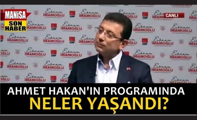 Ahmet Hakan'ın programında neler yaşandı?