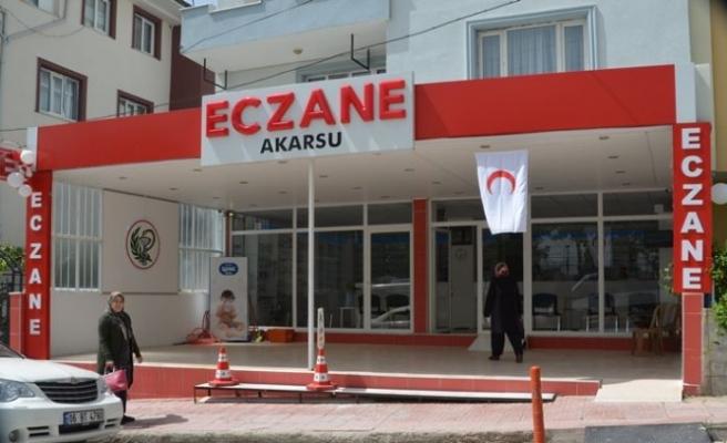 Akarsu Eczanesi yeni işyerinde hizmet vermeye devam edecek