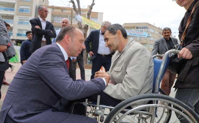 Başkan Akın Engelliler Haftası'nı Kutladı