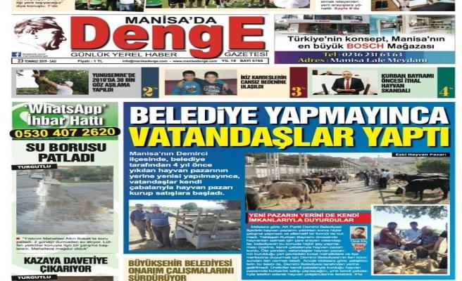 Başkan Selçuk'lu Demirci Belediyesi yine manşetlerde yer buldu