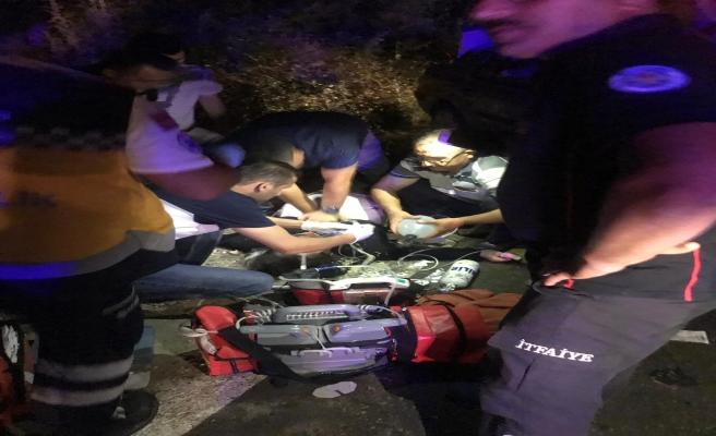 Gördes-Demirci yolunda meydana gelen kazadan acı haber geldi