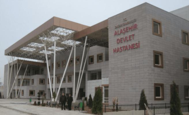 Alaşehir Devlet Hastanesi'nde temizlik başladı