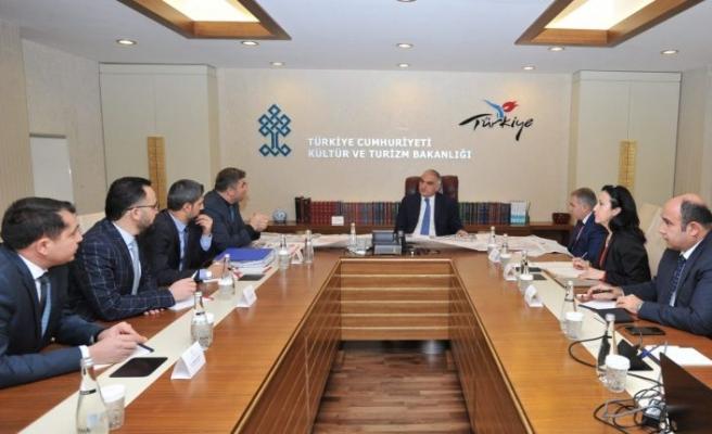 Kültür ve Turizm Bakanlığında, Kula Projeleri Konuşuldu