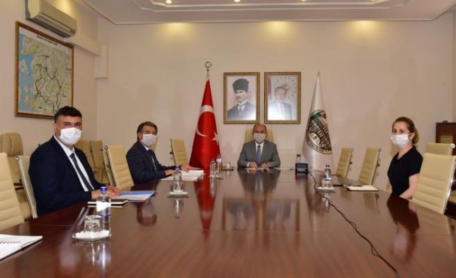 İl Pandemi Kurulu Toplantısı, Vali Karadeniz Başkanlığında Yapıldı