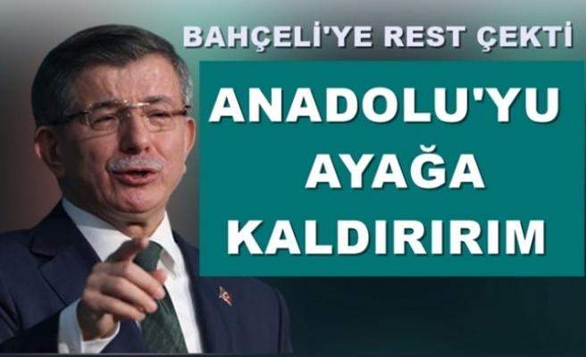 Bahçeli'ye Rest! Anadolu'yu Ayağa Kaldırırım