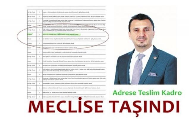 Sağlık Bakanlığı Üniversitesi'nde Adrese Teslim Kadro